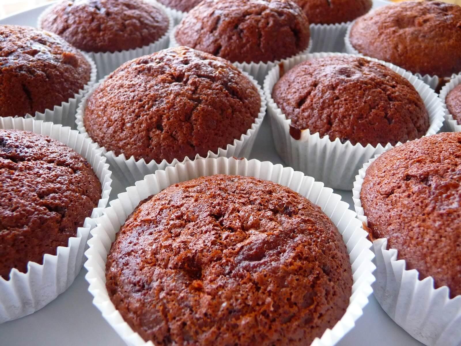 Muffin dolci con farina di Grilli ricetta